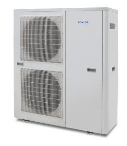 DUAL CLIMA levegő-víz hőszivattyús rendszer